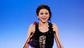Selena Gomez presents