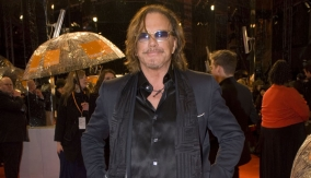 Mickey Rourke on the Red Carpet