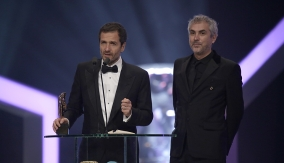 Alfonso Cuarón and David Heyman