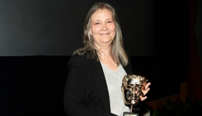 Amy Hennig with her Special Award