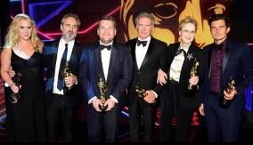 Schumer with fellow 2015 Britannias honorees