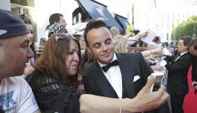 Ant McPartlin on the red carpet