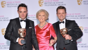 With Mary Berry
