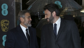 Clooney &amp; Affleck on Red Carpet