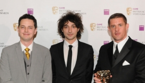 The winners with Alex Zane