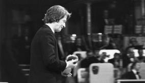 John Hurt accepts the award