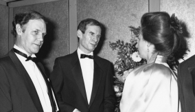 With Colin Cant & Princess Anne