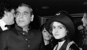 With Helena Bonham Carter