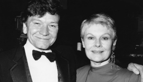 Judi Dench with Michael Williams