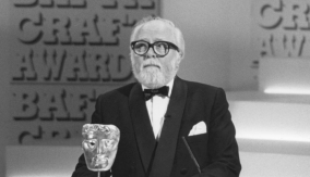 Lord Attenborough at the ceremony