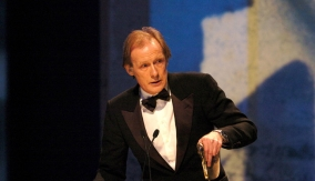 Nighy at the podium in 2004