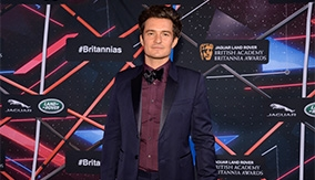 Orlando Bloom on the red carpet