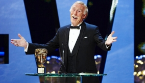Bruce Forsyth at the Podium