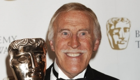 Bruce Forsyth in the Press Room