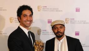 Amir Rahimi with Noel Clarke