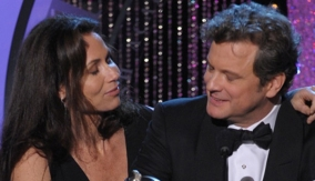 Colin Firth & Minnie Driver
