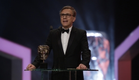 Christoph Waltz presents Best Film