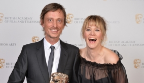 With Edith Bowman