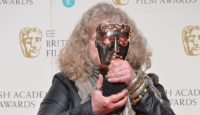 Jenny Beavan in the press room