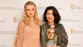 Fotini Dimou with Emily Berrington
