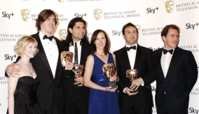 The winners & presenters