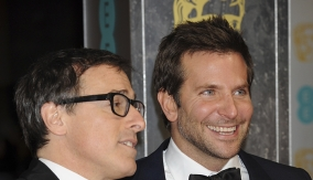 David O. Russell with Bradley Cooper