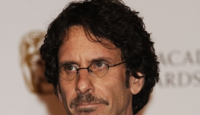 Joel Coen in the Press Room