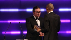 Presenter Danny Wallace