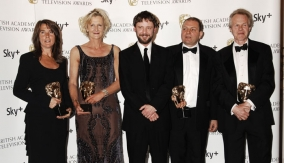 The winners with John Simm