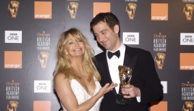 With presenter Goldie Hawn