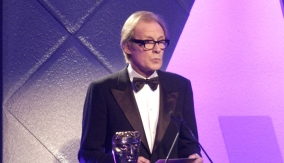 Actor Bill Nighy presents