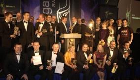 The evening's winners