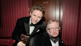 Redmayne and Stephen Hawking