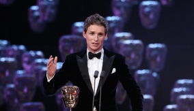 Redmayne at the podium
