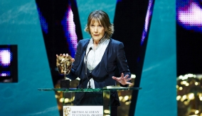 Eileen Atkins at the Podium