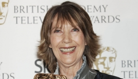 Eileen Atkins in the Press Room