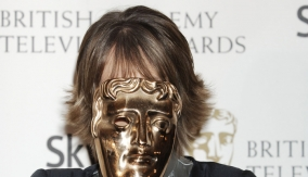 Eileen Atkins with her award