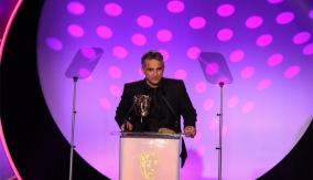 Dave Nath at the podium