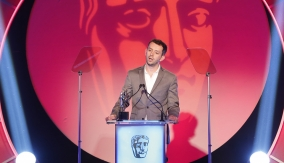 Ben Stephenson accepts the award