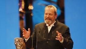 Terry Gilliam at the Podium
