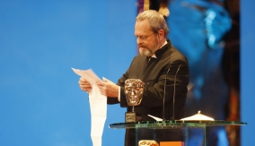Terry Gilliam reads his speech