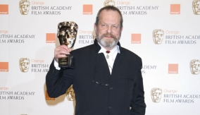 Terry Gilliam in the Press Room