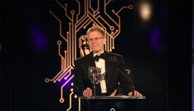 John Carmack at the podium