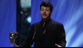 Actor Andy Serkis presents