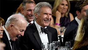 Harrison Ford at the Britannia Awards ceremony