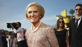 Mary Berry on the red carpet