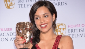 Georgina Campbell backstage