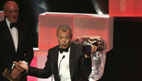 Graham Norton at the Podium