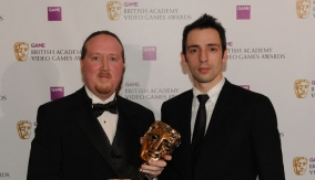James Honeywell with Ralf Little