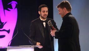 Dynamo presents the award